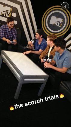 The scorch trials Maze Runner The Scorch, Maze Runner Cast, Maze Runner Series, The Scorch Trials, Dylan O'brien, Teen Wolf, Mtv, The Cure, Death