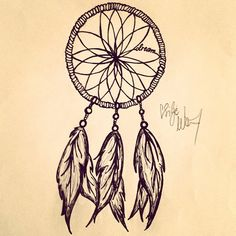 getting my dream catcher tattoo done today!!little something like this