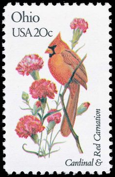 state bird postage stamps - Google Search