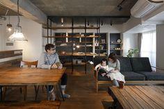 No.0400「中古購入+リフォーム」で、こだわりの場所に、好みの間取り&デザインの家を実現(マンション) リフォーム・マンションリフォームならLOHASstudio(ロハススタジオ)presentedbyOKUTA(オクタ)-スマートフォンサイト