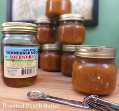 roasted peach butter