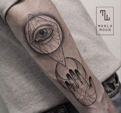Marla Moon Tattoo