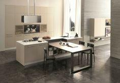meubles de cuisine en beige