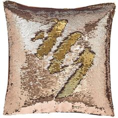 Catherine Lansfield  Reverse Sequin Cushion (27 AUD) ❤ liked on Polyvore featuring home, home decor, throw pillows, mermaid home decor, mermaid throw pillows, sequin throw pillow, british home decor and colored throw pillows