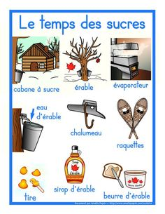 Cabane à sucre Winter Activities, Kindergarten Activities, Activities For Kids, Group Activities, French Teacher, Teaching French, Amelie Pepin, Core French, French Classroom