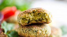 Falafels et petite sauce d'inspiration libanaise au tahin