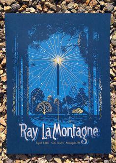 Ray LaMontagne Poster by Hernan Valencia