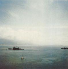 Foto di Cy Twombly, Il mare di Gaeta
