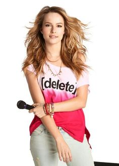 Bridgit Mendler for Cyper bullying.