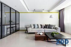 Thiết kế nội thất căn hộ nhỏ hiện đại thông minh cho gia đình trẻ [15]
