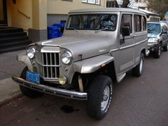 Willys Jeep Station Wagon. I need this for the kids;)