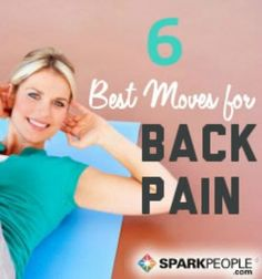 Beat back pain with these exercise tips! | via @SparkPeople #fitness #workout
