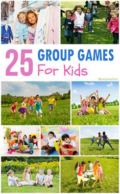 Best Group Games For Kids Top 25 Group Games For Kids: here are 25 group games that kids can enjoy using household items.Top 25 Group Games For Kids: here are 25 group games that kids can enjoy using household items. Gym Games For Kids, Summer Camp Games, Outdoor Games For Kids, Fun Games, Outside Games For Kids, Summer Fun, Outdoor Toys, Summer Camps, Fun Kids Games Indoors