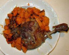 Un plat raffiné dinge de vos plus belles tables. - Recette Plat : Cuisse de canard mijotees aux patates douces par La cuisine de Titinette
