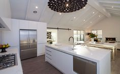 Looking out from the kitchen | Beachlands | G.J. Gardner Homes New Zealand
