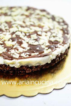 Blog di cucina di Aria: Cheesecake al mascarpone e riso soffiato