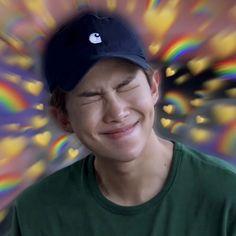 𝖗𝖊𝖆𝖈𝖈𝖎𝖔𝖓𝖊𝖘 ㅡ kim namjoon - Namjin, Bts Meme Faces, Funny Faces, Foto Bts, Bts Emoji, K Pop, Bts Face, Heart Meme, Cute Love Memes