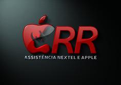 Ilustração do Logotipo criado pela Ópera para a RR Assistência Nextel e Apple de São Paulo | SP.