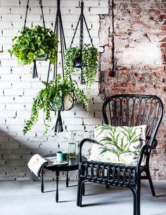 #macramé plantenhangers, styling: Moniek Visser, fotografie: Sjoerd Eickmans