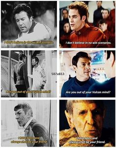 Star Trek ~ Old School vs New School