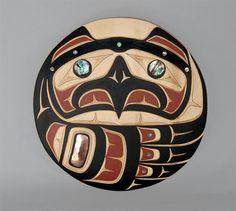 Haida Raven wall plaque