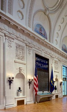 United States Naval Academy - Memorial Hall Sound System