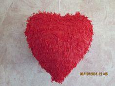 heart shaped piñata