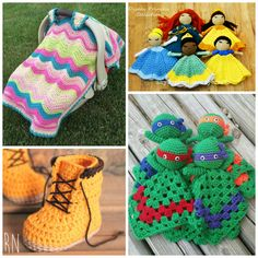 Adorable-Baby-Crochet-Patterns.png (1000×1000)