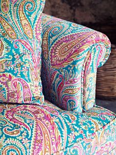 Whether you're looking to deck your home top to bottom in Liberty print, or just add a statement piece, our Jubilee collection of furnishing fabrics could be the perfect solution.