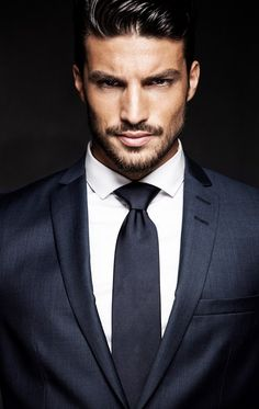 You don't have to be an executive to dress like one..love a classic dark suit on a well-groomed man.<3