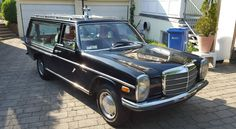 1976 Mercedes-Benz 200: Hearse-Equipped - http://barnfinds.com/1976-mercedes-benz-200-hearse-equipped/