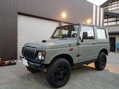 Suzuki Jimny, Land Cruiser, Van Life, Old Cars, Cars And Motorcycles, Jeep, Truck, Gray, Design