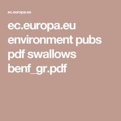 ec.europa.eu environment pubs pdf swallows benf_gr.pdf