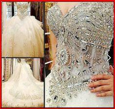 YZ BRIDAL CRYSTAL SEXY WEDDING Dress