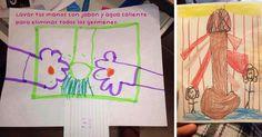 Te traemos 31 obras de arte hechas por niños que reflejan las cosas cotidianas vistas desde sus ojos (y que nosotros como adultos solemos distorsionar un poco)