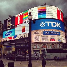 Piccadilly Circus in London, Greater London