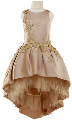 Lace Appliqué Ideas - Mischka Aoki - Luxury brand for children Little Dresses, Little Girl Dresses, Cute Dresses, Beautiful Dresses, Girls Dresses, Flower Girl Dresses, Flower Girls, Beautiful Life, Little Girl Fashion