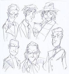 Sketching Doctors by NachoMon on DeviantArt