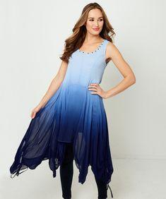 Dip Dye Tunic | Women's Clothing | Joe Browns Official Site Short Legs, Tunic Shirt, Dip Dye, Kandi, Hemline, Clothes For Women, Formal Dresses, Unique, Women's Clothing