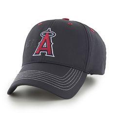 Los Angeles Angels Wraith Black 47 Brand Adjustable Hat