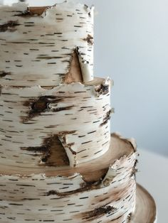 Birch Cake Birch Cake Handpainted and structured, Birkenkuchen Birkenkuchen Handbemalt und strukturiert, – never – Birch cake birch cake hand-painted and textured, – never – - Birch Wedding Cakes, Birch Tree Wedding, Wedding Cake Fresh Flowers, Fondant Wedding Cakes, Wedding Cake Rustic, Fall Wedding Cakes, Wedding Cake Designs, Fondant Cakes, Wedding Cake Toppers