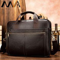 MVA men's briefcase/genuine Leather messenger bag men leather/business laptop office bags for men briefcases men's bags 8572  Price: 53.74 & FREE Shipping  #hashtag1 Leather Laptop Bag, Leather Briefcase, Laptop Bags, Office Bags For Men, Business Laptop, Business Men, Briefcase For Men, Messenger Bag Men, Leather Men