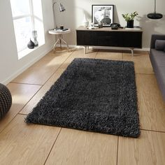 The high density pile is made up of ultra fine fibres to create a stunning, shimmering effect. #FloorRugs #Shaggy