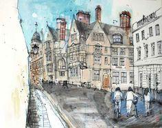 Junction Art Gallery - Kelly Stewart 'New College Lane'