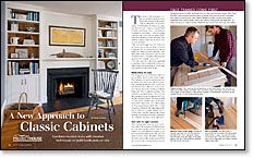 A New Approach to Classic Cabinets