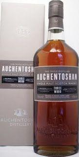 Whisky Merchants: Auchentoshan Single Malt Whisky Three Woods 43%.
