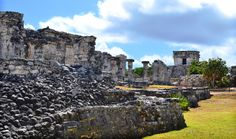 Romantic Tulum Ruins