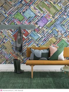Graffiti Byline is an urban style wall mural designed by Derek