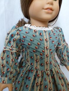 1850's dress in robin egg blue for your 18 by nancysdollcloset