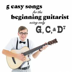 Learn To Play Keyboards - All it takes to learn these 5 beginner guitar songs are three easy chords. These easy guitar songs with beginner chords are a great way to learn guitar. Learn Guitar Beginner, Guitar Songs For Beginners, Learn Guitar Chords, Basic Guitar Lessons, Easy Guitar Songs, Acoustic Guitar Lessons, Learn To Play Guitar, Guitar Tips, Guitar Bag